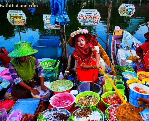 Khlong hae 5 495x400 - Shopping di Hat Yai